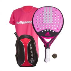 PACK ADIDAS REAL POWER CTRL 1.8 MUJER Y MOCHILA VISION