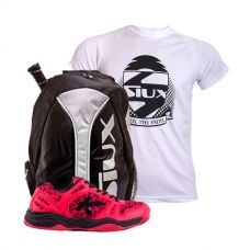 PACK ZAPATILLAS KELME K-SPIKE Y MOCHILA TRAIL SIUX Y CAMISETA