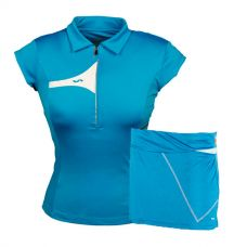 PACK FALDA VARLION MD12S08 AZUL Y POLO VARLION MD13W02 TURQUESA