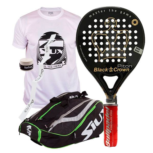 PACK BLACK CROWN PITON Y PALETERO SIUX MASTERCOMBI