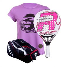 PACK ROYAL PADEL RP 790 WHIP WOMAN Y PALETERO SIUX MASTERCOMBI