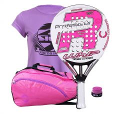 PACK ROYAL PADEL RP 790 WHIP WOMAN Y PALETERO SOFTEE