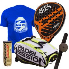 PACK ARES ARROW Y PALETERO PADEL SESSION MATRIX 3