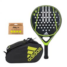 PACK ADIDAS PRO CARBON CTRL 1.9 Y PALETERO CONTROL CRB