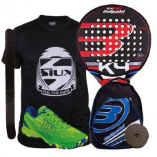 PACK BULLPADEL K4 Y ZAPATILLAS