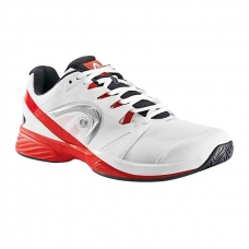 ZAPATILLAS HEAD NITRO PRO CLAY BLANCO Y ROJO
