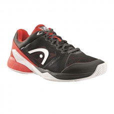 ZAPATILLAS HEAD REVOLT PRO 2.0 CLAY NEGRO ROJO