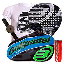 Pack 2 Bullpadel Silver Edition y paletero