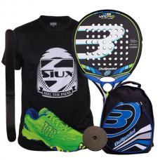 PACK BULLPADEL WING PRO 2016 Y ZAPATILLAS