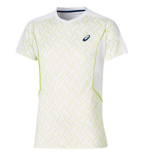 538167ab Camiseta Asics Padel Ss Top Blanca Lima - Diseño con calidad Asics