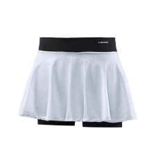 FALDA HEAD PERFORMANCE SKORT WOVEN KNIT BLANCO