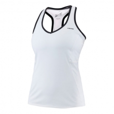 CAMISETA DE TIRANTES HEAD PERFORMANCE TANK TOP BLANCA