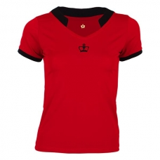 Polo Black Crown Oxford Rojo Negro
