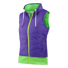 CHALECO HEAD TRANSITION T4S REVERSABLE VEST VERDE LILA