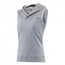 HEAD TRANSITION T4S SLEEVELESS HOODY GRIS
