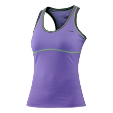 CAMISETA HEAD VISION BERRY TANK TOP VIOLETA