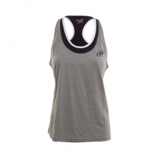 CAMISETA BULLPADEL VISTOLA GRIS MEDIO VIGORE