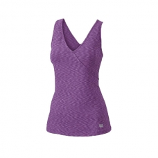 CAMISETA WILSON STRIATED WRAP TANK CIRUELA