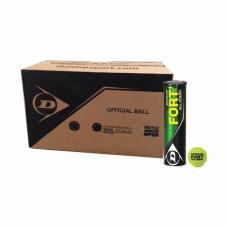 CAJON DE 18 BOTES DE 4 PELOTAS DUNLOP FORT ALL COURT