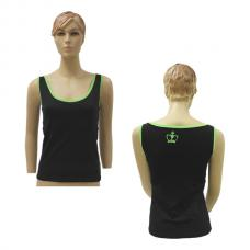 Camiseta Black Crown Pescara Negro Verde