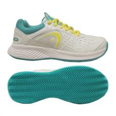 Head Sprint Team Clay Women White-Lemon-Teal