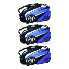 Pack 3 Paletero Padel Session Azul