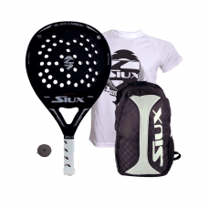 PACK SIUX BLACK CARBON MATE Y MOCHILA SIUX TRAIL